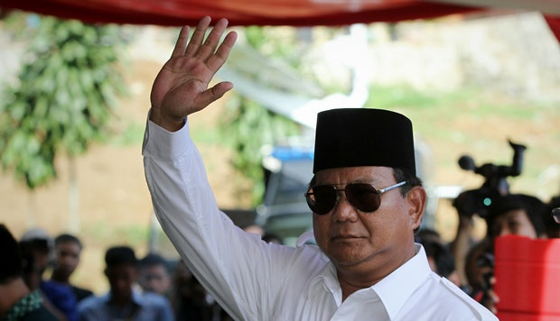 Ketua Umum Partai Gerindra, Prabowo Subianto. Foto : Tempo