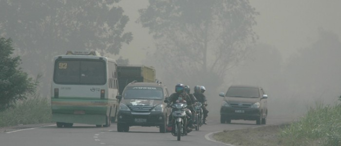 Titik Panas Mulai Berkurang di Pulau Sumatera