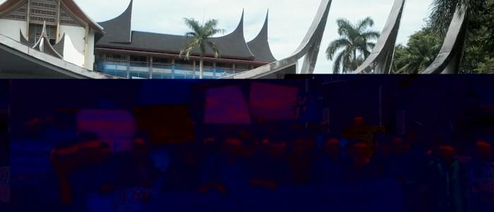Aksi #SAVEKPK di Padang Tuntut BW Dibebaskan