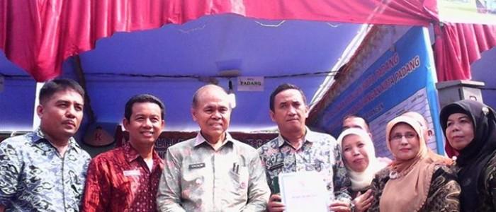 Padang Berhasil Tingkatkan Produksi Padi Diatas 10 Persen