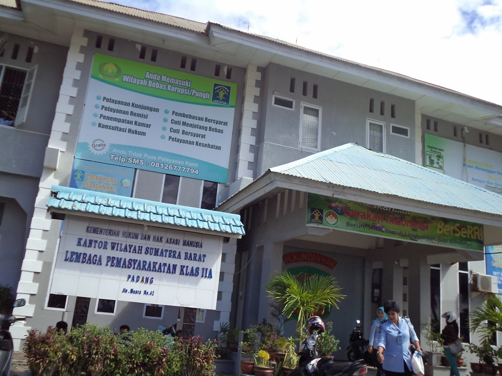 Lembaga Pemasyarakatan  Muara Kelas II A Muara Padang. Foto : Istimewa.