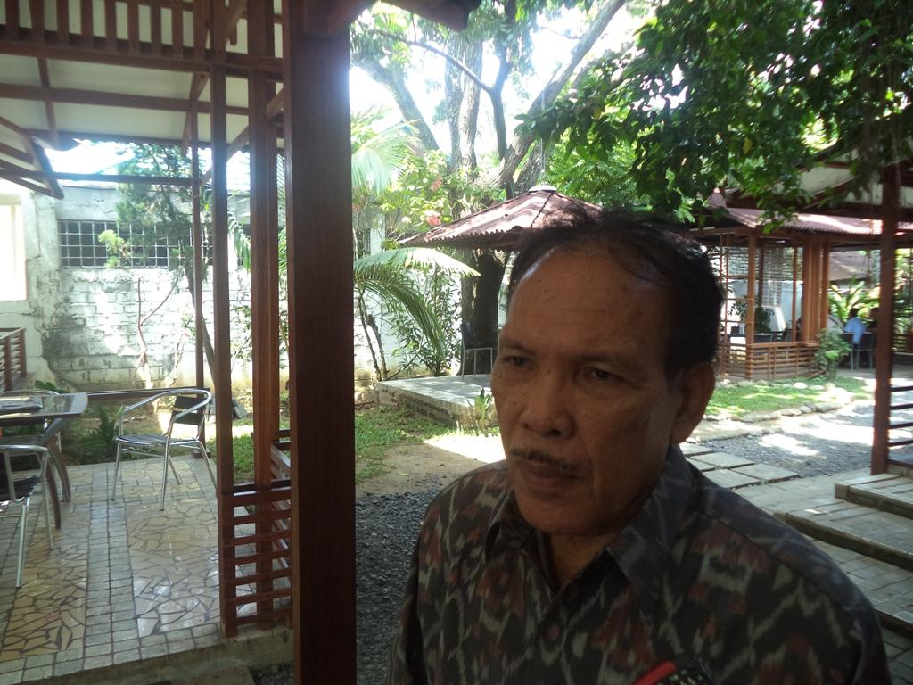 Ketua Komisi Kejaksaan, Halius Hosen. FOTO/IKHWAN
