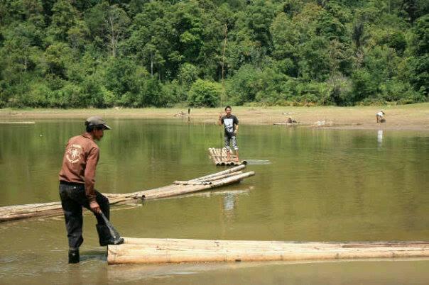 Danau Tarusan Kamang. FOTO/AWN