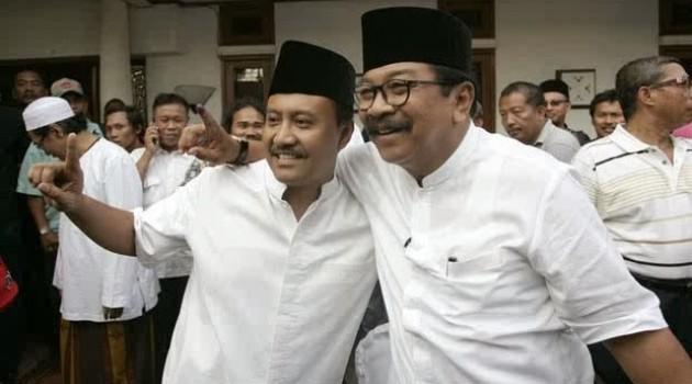 Gubernur dan Wakil Gubernur Jawa Timur Terpilih.