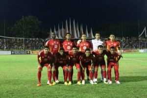 Team Semen Padang Saat Menghadapi Barito Putera Beberapa Saat lalu