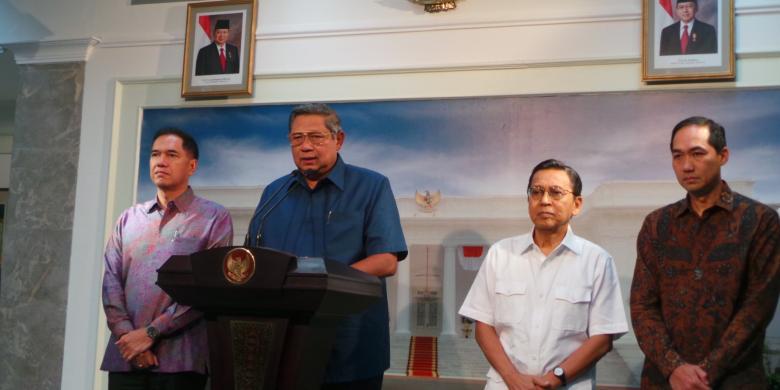 Presiden Susilo Bambang Yudhoyono menunjuk M Lutfi sebagai Menteri Perdagangan yang baru. Lutfi menggantikan Gita Wirjawan yang mengundurkan diri sejak 31 Januari 2014. FOTO/KOMPAS
