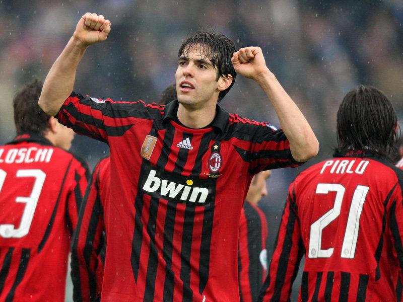 Pemain AC Milan, Kaka.