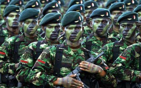 Tentara Nasional Indonesia. FOTO/ITODAY