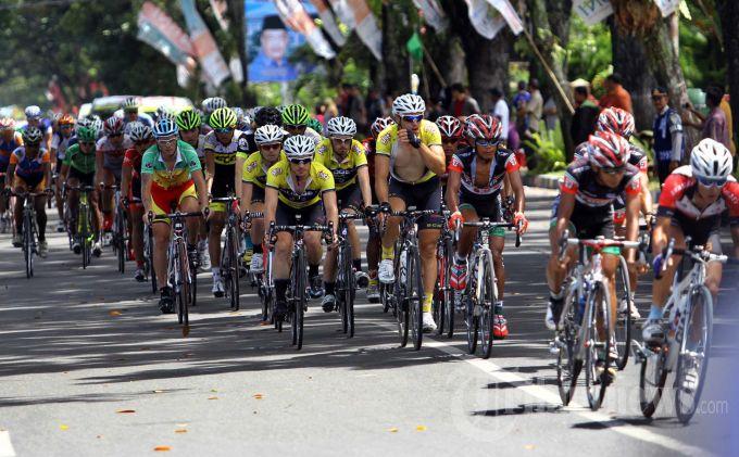 Ilustrasi. Tour de Singkarak 2013. Foto : Tribun