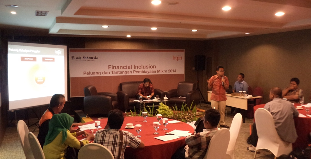 Workshop Peluang dan Tantangan Pembiayaan Mikro 2014. FOTO/WAN