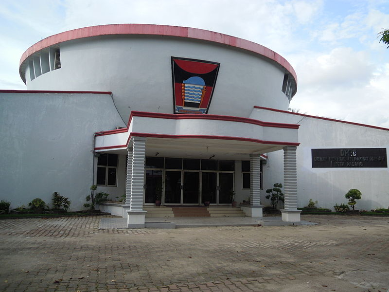 Gedung DPRD Kota Padang.