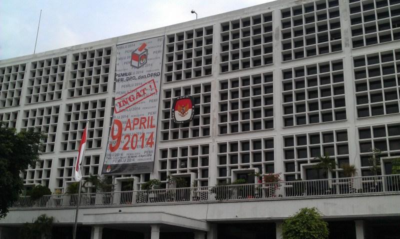 Gedung Komisi Pemilihan Umum Republik Indonesia.