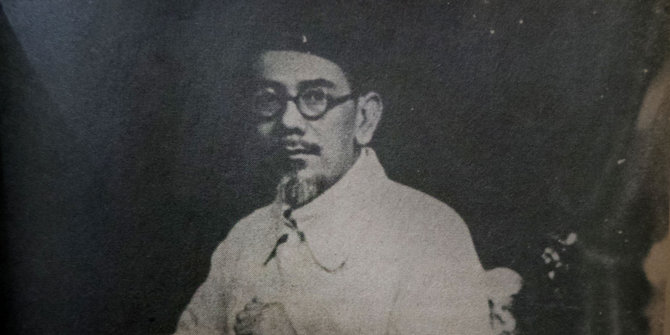 Haji Agus Salim. ©buku seratus tahun haji agus salim/sinar harapan