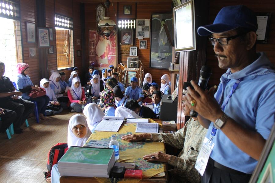 Lawatan Budaya ke Museum Rumah Kelahiran Buya Hamka yang terletak di Nagari Sungai Batang, Kecamatan Tanjung Raya, Kabupaten Agam, Sumatera Barat . FOTO/YATHADA