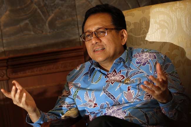 Ketua DPD RI, Irman Gusman.