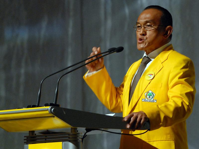 Ketua Umum DPP Partai Golkar Aburizal Bakrie.