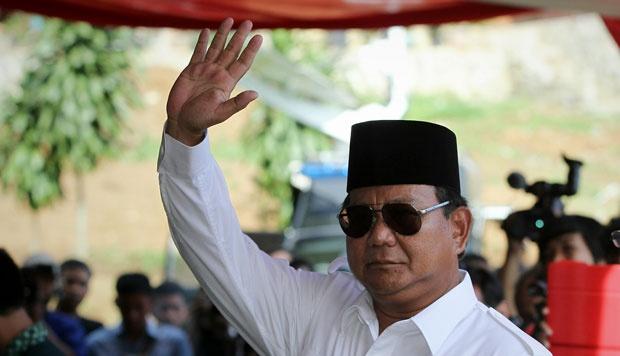 Calon Presiden 2014, Prabowo Subianto. Foto : Tempo