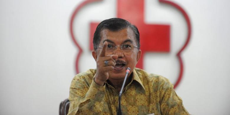 Calon Wakil Presiden, Jusuf Kalla. FOTO/KOMPAS.