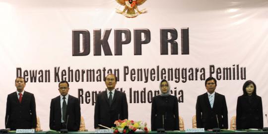 Dewan Kehormatan Penyelenggara Pemilu. Foto : KanalSatu.com