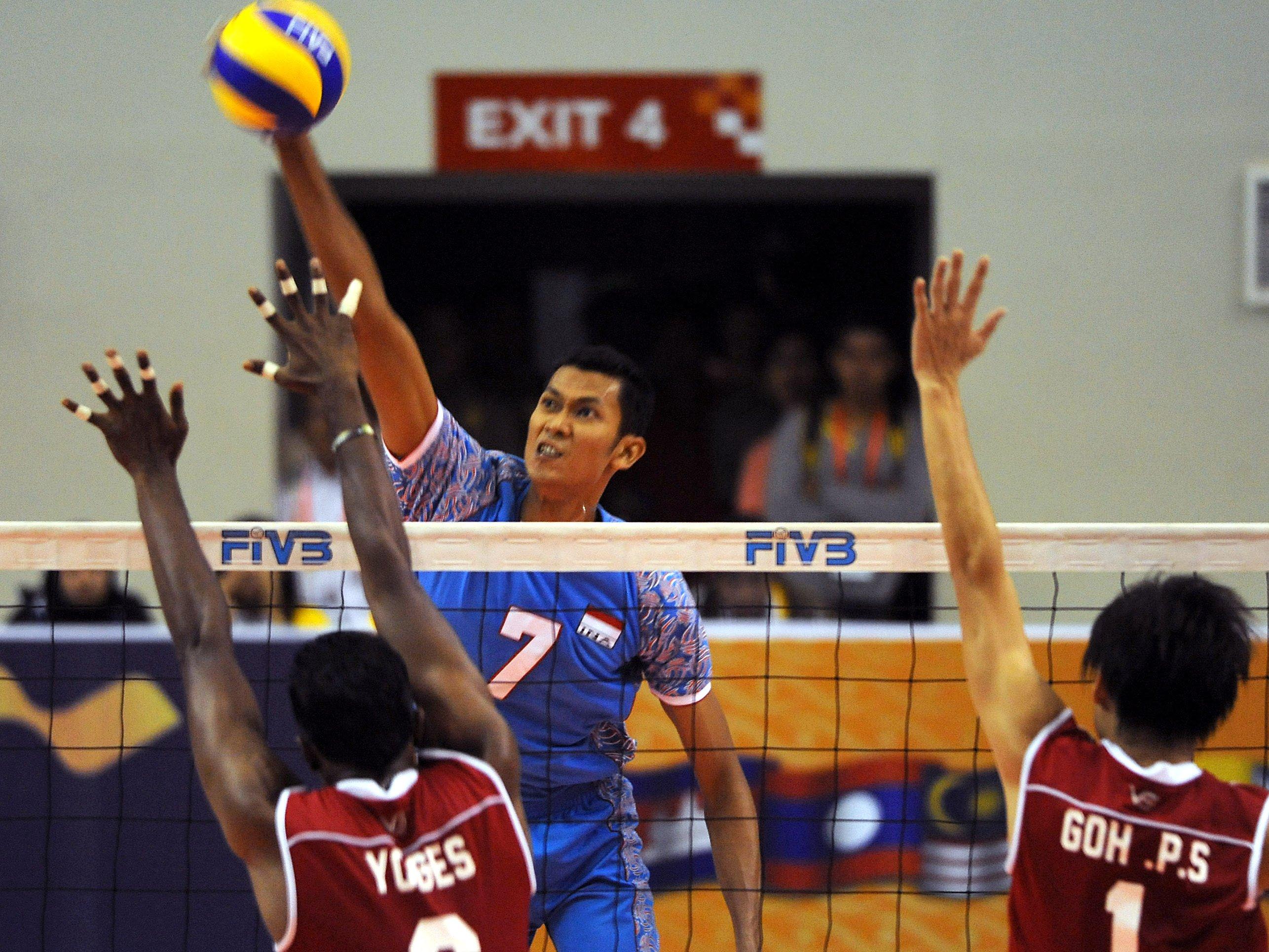 Ilustrai olahraga Voli. Foto  : SportaNews