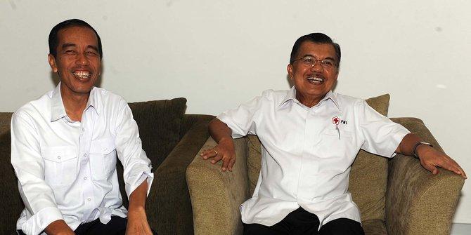Joko Widodo dan Jusuf Kalla. Foto : Merdeka