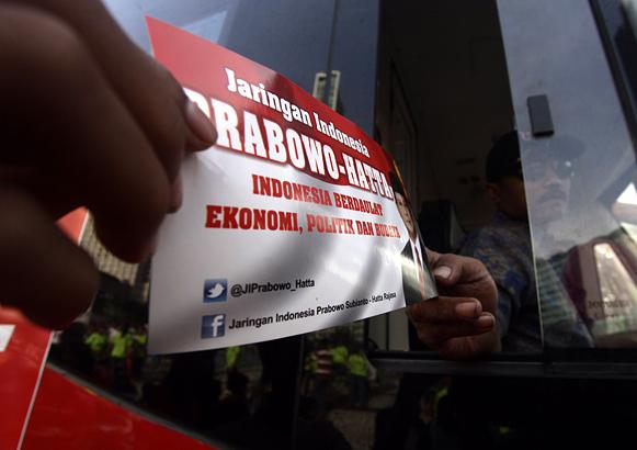 Media kampanye Prabowo-Hatta. Foto : Inilah
