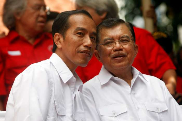 Calon Presiden dan Wakil Presiden RI, Joko Widodo dan Jusuf Kalla.