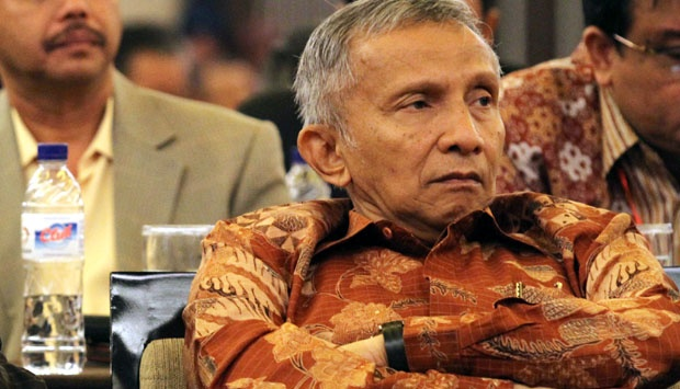 Ketua Dewan Pertimbangan PAN, Amien Rais.