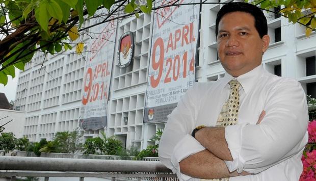 Ketua KPU RI, Husni Kamil Malik. Foto : Tempo