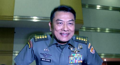 Panglima TNI, jenderal TNI Moeldoko