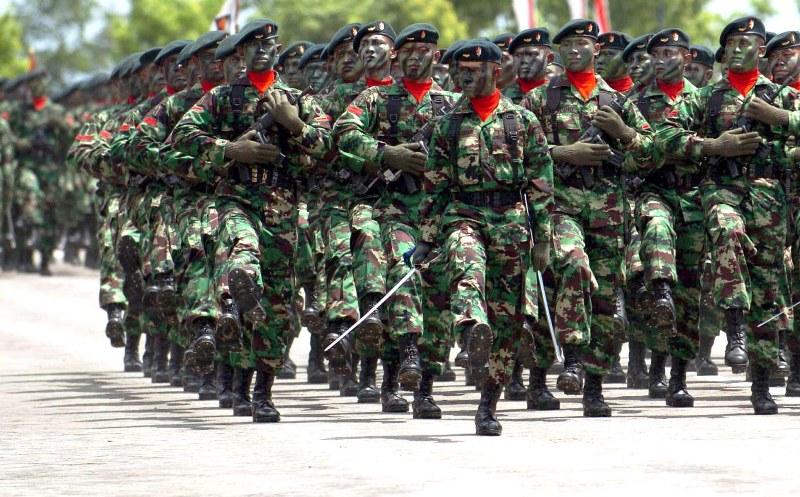 Ilustrasi TNI. Foto : Kompas