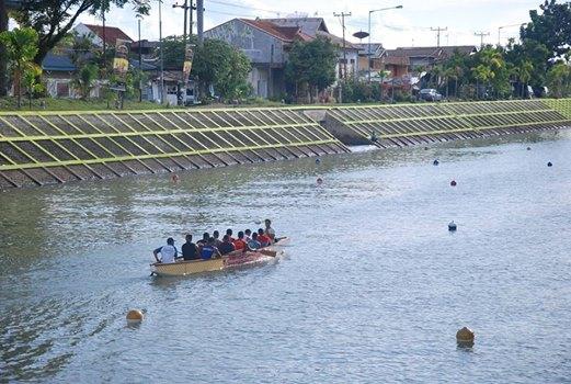 Latihan peserta Dragon Boat. Foto : Istimewa