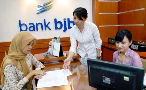 Pelayanan Bank BJB. Foto : Tribunnews.com