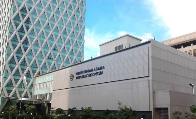 Gedung Kementerian Agama RI di Jakarta.