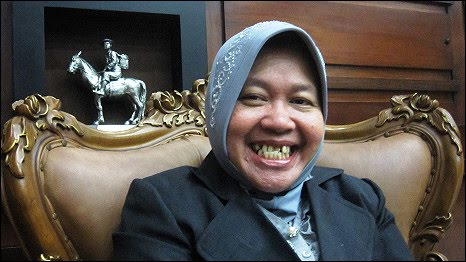 Walikota Surabaya, Tri Rismaharini.