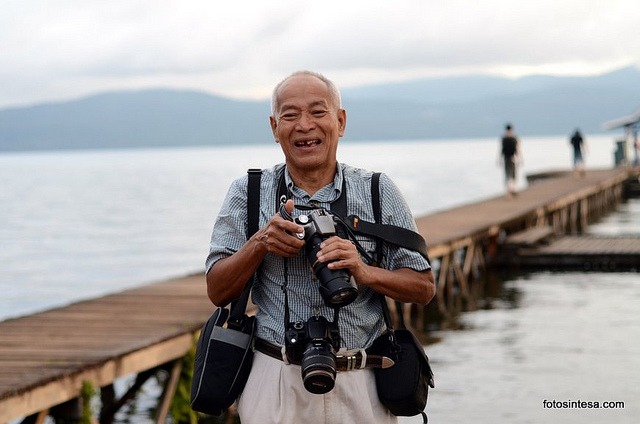 Fotografer Senior, Don Hasman. Foto : Istimewa