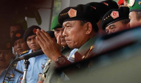 Panglima TNI, Jendral TNI Moeldoko. Foto : Republika