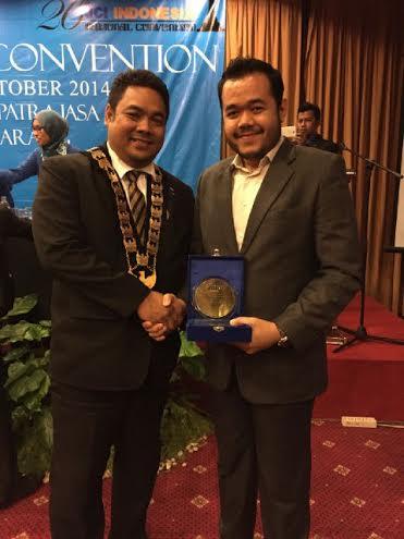 Peraih JCI Award, Fadly. Foto : Istimewa