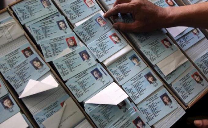 Ilustrasi Kartu Tanda Penduduk atau KTP. Foto Tribunnews.com