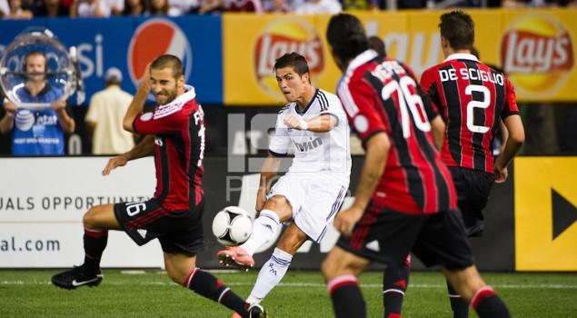 AC Milan vs Real Madrid. Foto : indobolanews.com