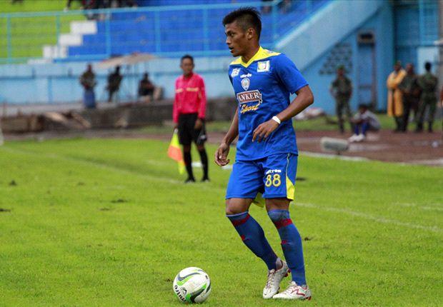 Pemain Semen Padang, Irsyad Maulana.Foto : Goal