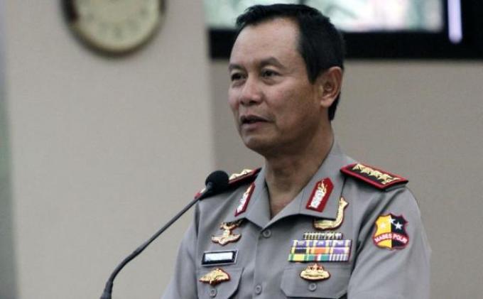 Kapolri, Jenderal Sutarman. Foto : Tribunnews.com