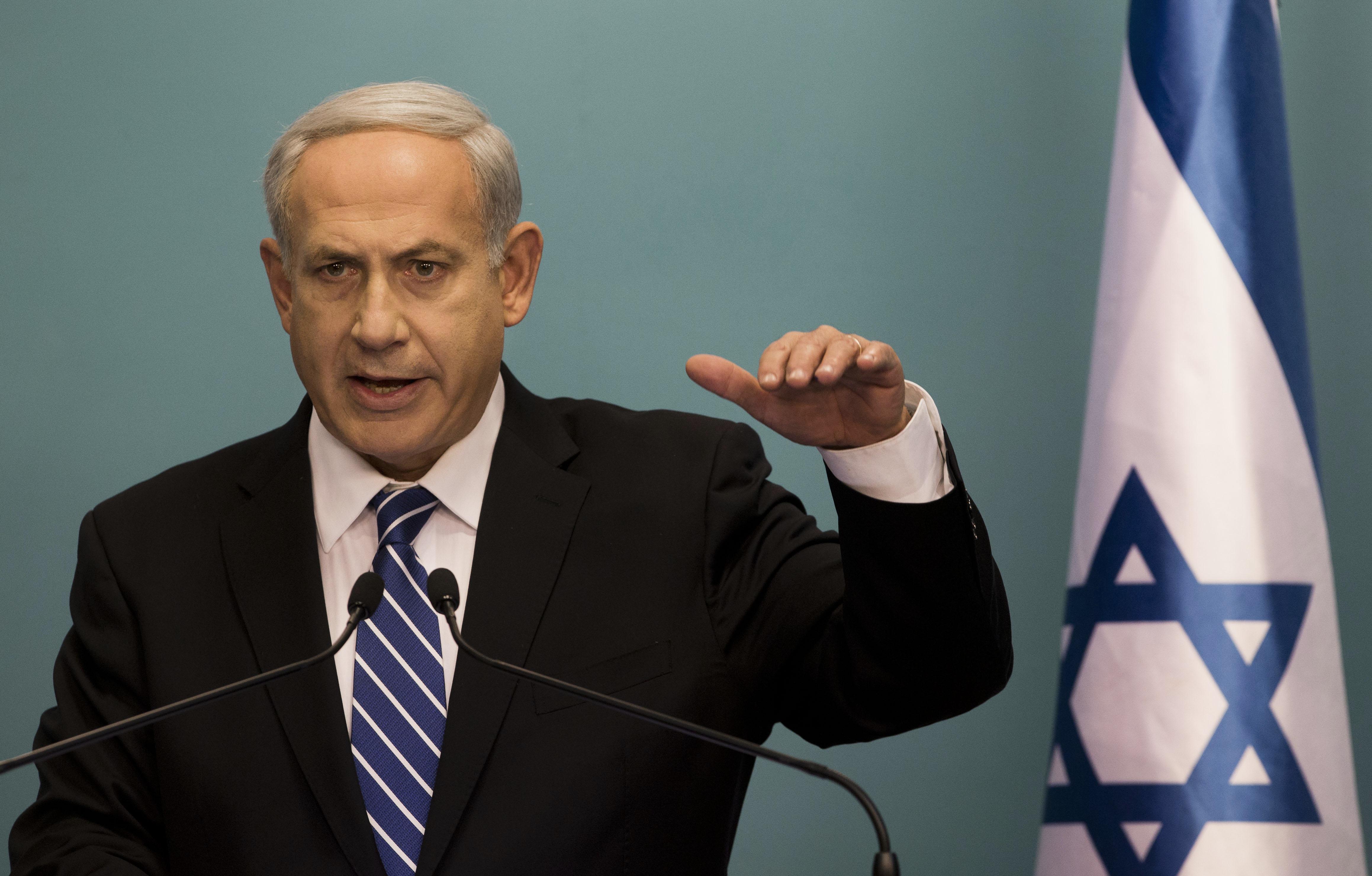 Benjamin Netanyahu. Foto : kielarowski.net