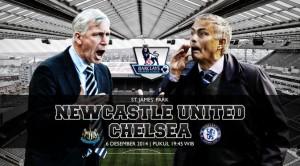 Newcastle United vs Chelsea. Foto : Liputan6.com/Yoshiro