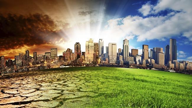 Ilustrasi Perubahan Bumi Foto: Getty Images