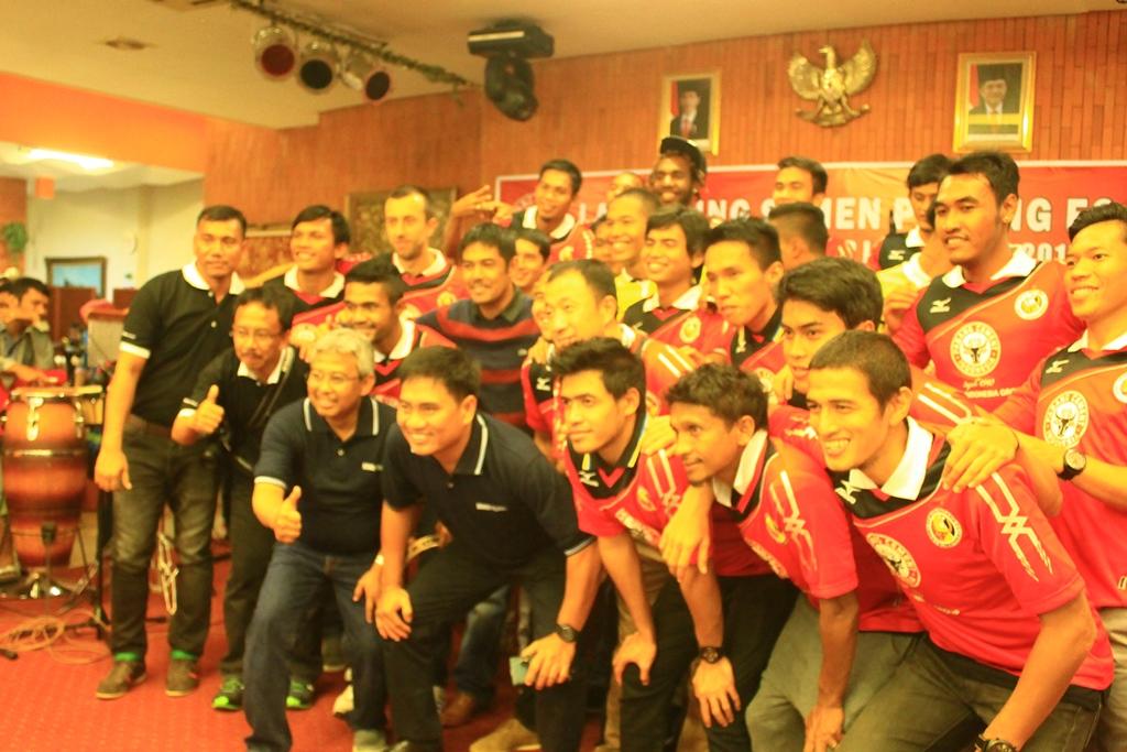 Skuad Semen Padang FC 2015. Foto : Ikhwan