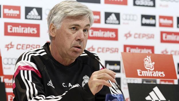 Pelatih Real Madrid, Carlo Ancelotti. Foto : Gettyimagess