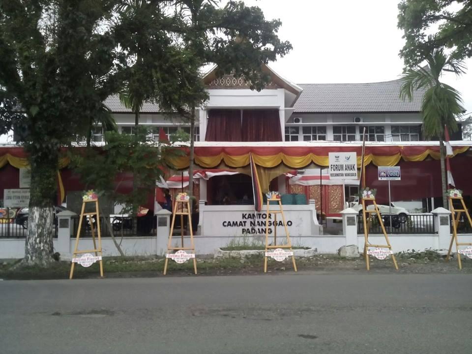 Gedung Baru Camat Nanggalo. Foto : Istimewa